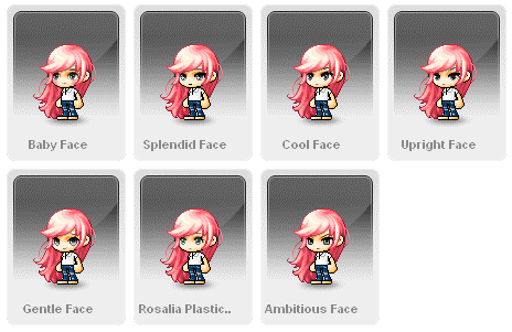 Maplestory special beauty coupon hairstyles