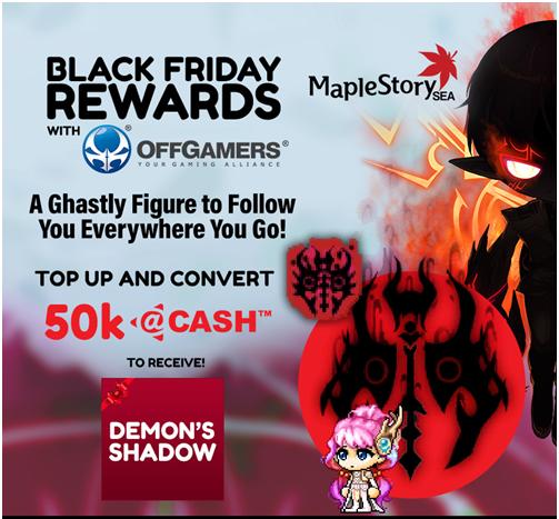 Offgamers 50k @Cash Promotion