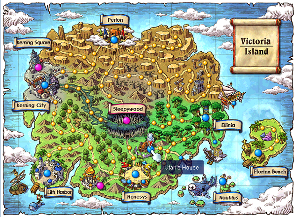 Man, I really miss the old Victoria Island. : Maplestory