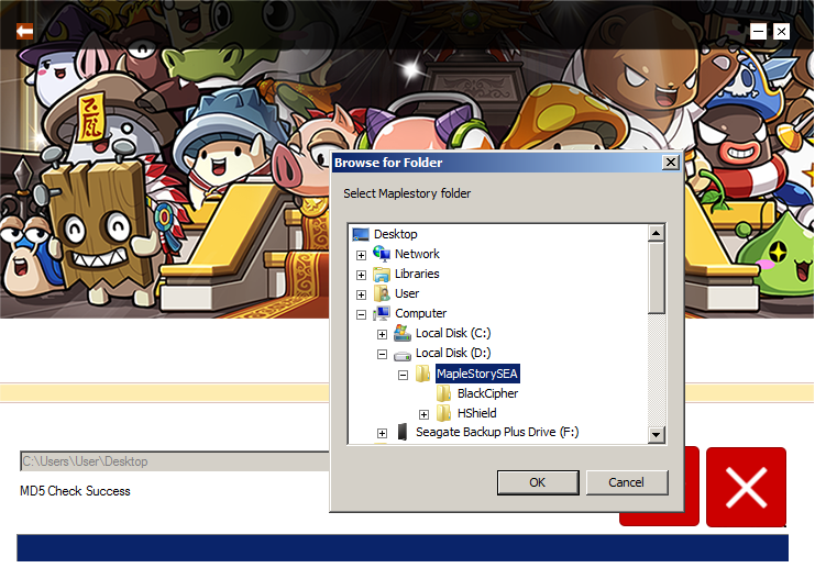 Maplesea download client patch