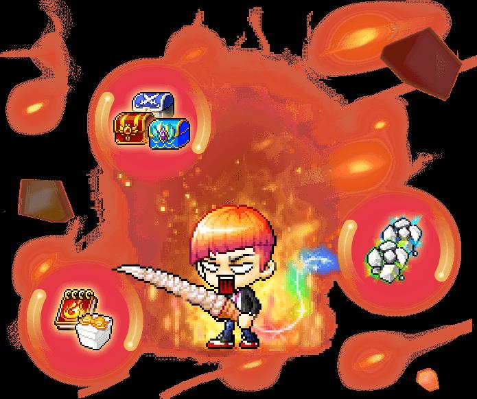 Tera Burning Illustration