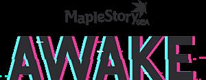 MapleStorySEA AWAKE Logo