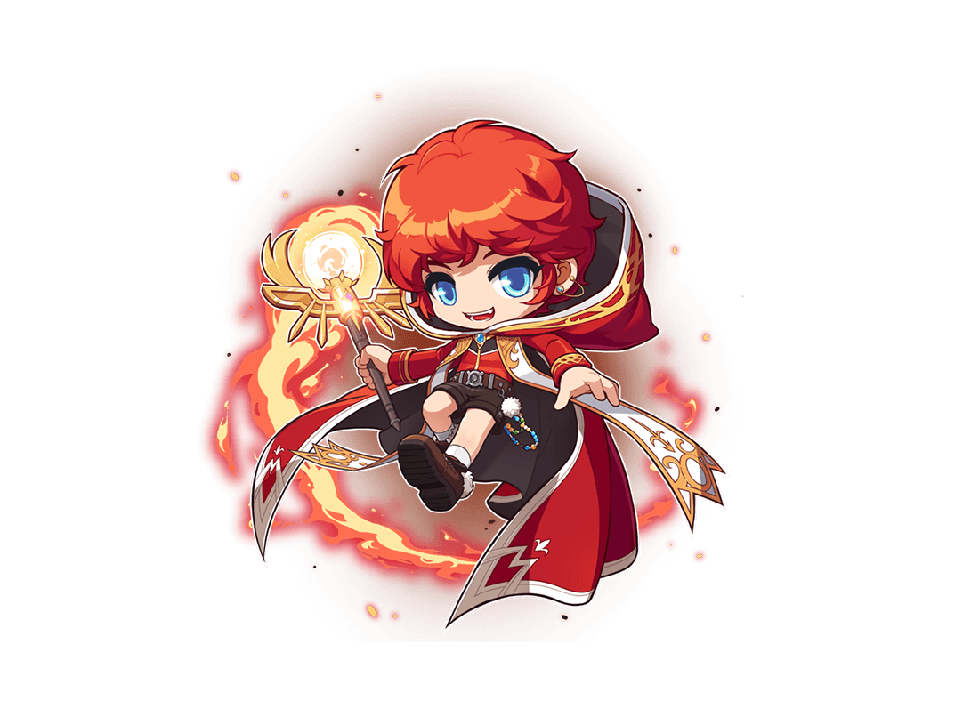 Flame Wizard Artwork