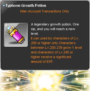 Typhoon Growth Potion